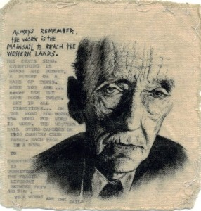 William S. Burroughs Fan Art by DA artist Verboten.