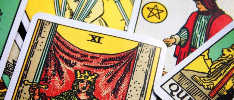 tarot cards read by an intuitive