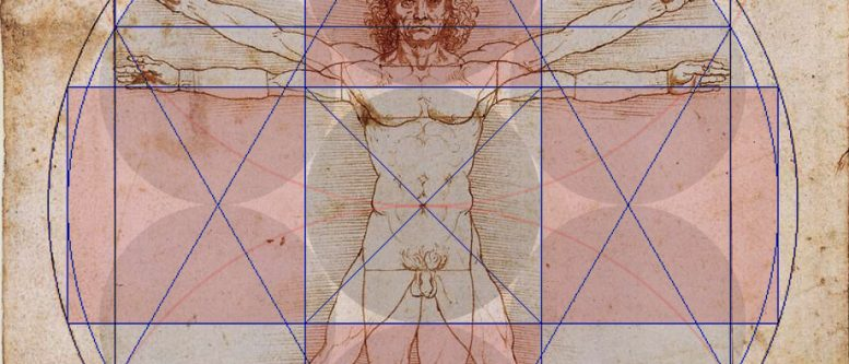 Vitruvian man, flower of life - Bob Frissell