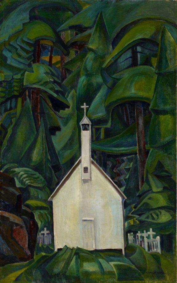 Emily Carr Indian Church 1929