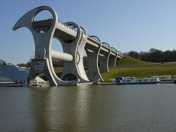 The Falkirk Wheel and the Scottish canals