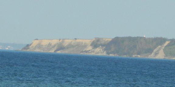 Scanian coastline at at the southern coast of Ven in Øresund.