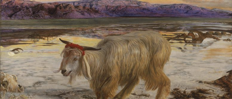 The Scapegoat (1854 painting by William Holman Hunt)